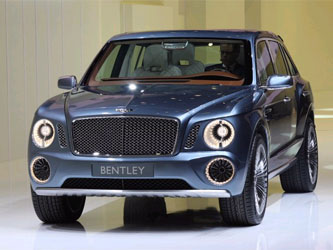 Новый Дизайн Bentley