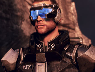 Кадр из игры Mass Effect 3